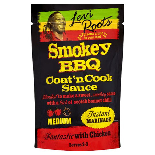 Levi Roots Coat And Cook Smoky Bbq 120G