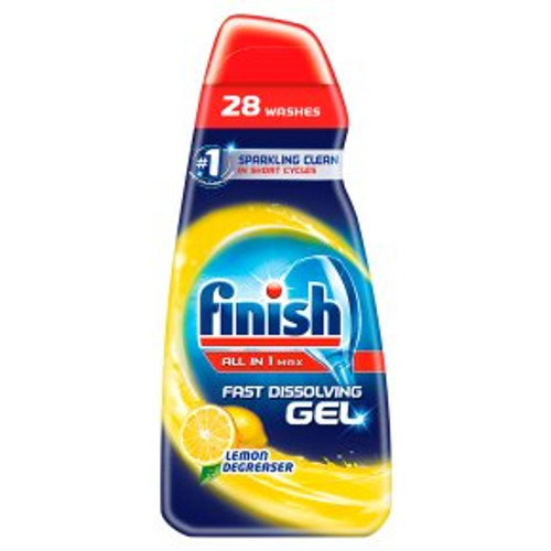 Finish All in 1 Max Gel Lemon Degreaser 700ml