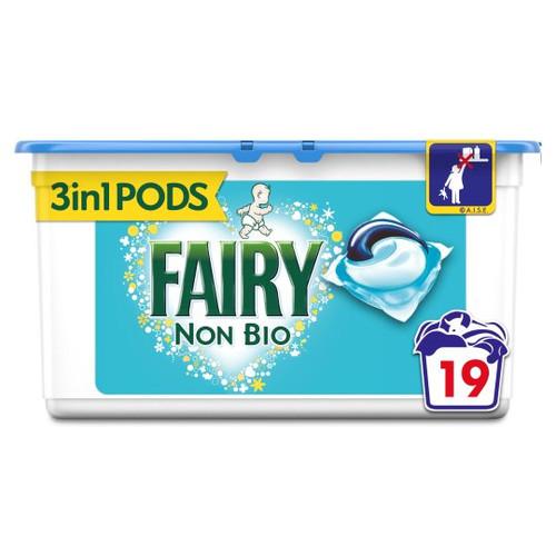 Fairy Non Bio. Washing Pods 19 Washes