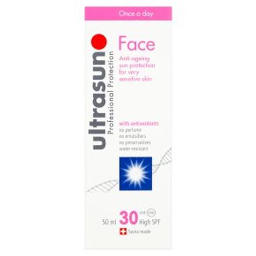 Ultrasun Face 30 Anti-Age Sensitive 50ml