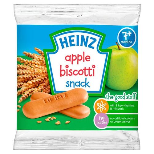 Heinz 7 Mths+ Apple Biscotti Biscuits 60g