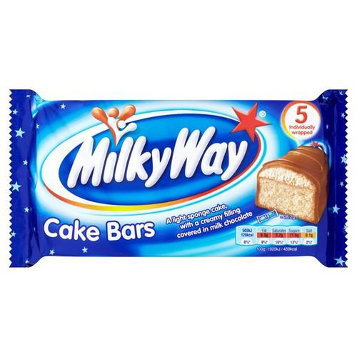 McVitie's Milky Way Cake Bars 5 per pack