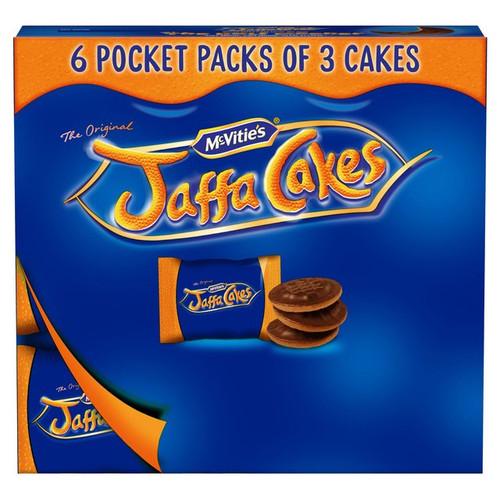 McVitie's Jaffa Cakes Pocket Pack 220g
