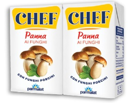 Parmalat Double Cream with Porcini Mushrooms (2x100ml)