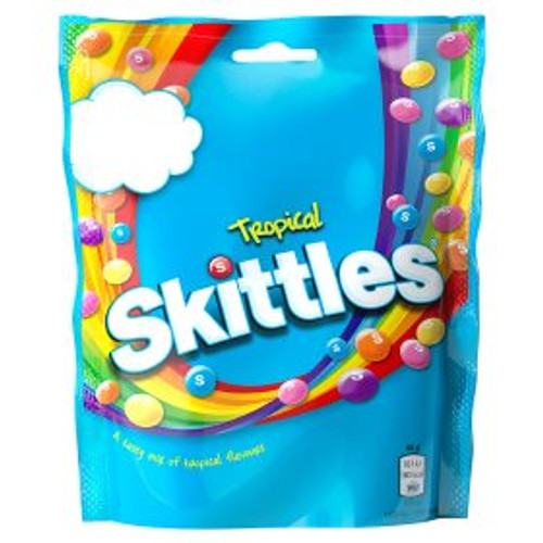 Skittles Tropical 125G