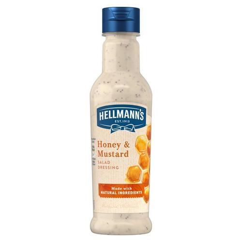 Hellmann's Honey & Mustard Dressing 210ml