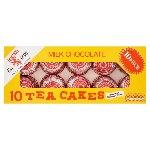 Tunnocks Milk Chocolate Teacakes 10 per pack 275g