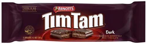 Arnotts Tim Tam Dark Chocolate 200g