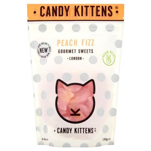 Candy Kittens Peach Fizz 138g