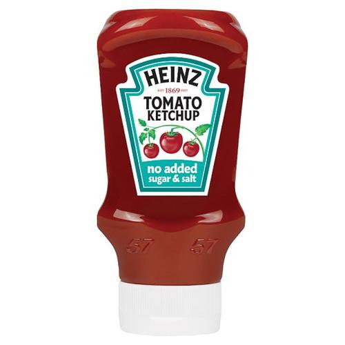 Heinz Tomato Ketchup No Added Sugar And Salt 400ML