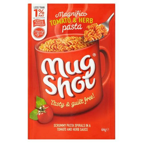 Mugshot Tomato And Herb Pasta 64G