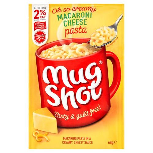 Mug Shot Macaroni And Cheese Pasta 68G