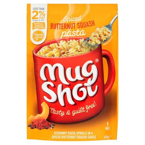 Mugshot Butternut Squash Pasta 60G
