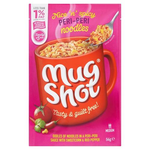 Mug Shot Noodles Peri-Peri Flavour 56g