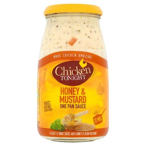 Chicken Tonight Honey And Mustard Sauce 500G