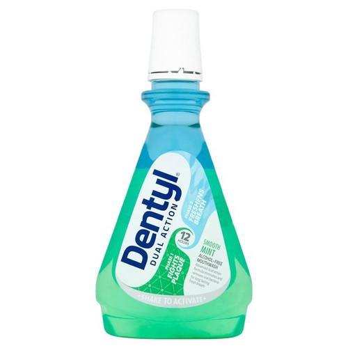 Dentyl Smooth Mint Mouthwash 500ml