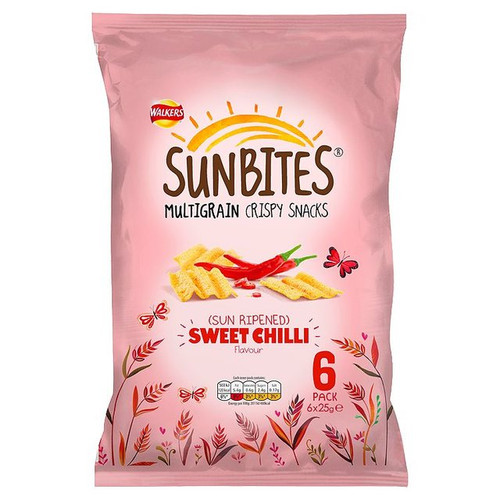 Walkers Sunbites Sweet Chilli 6 x 25g