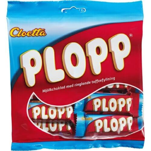 Cloetta Plopp – Chocolate with Caramel 158g