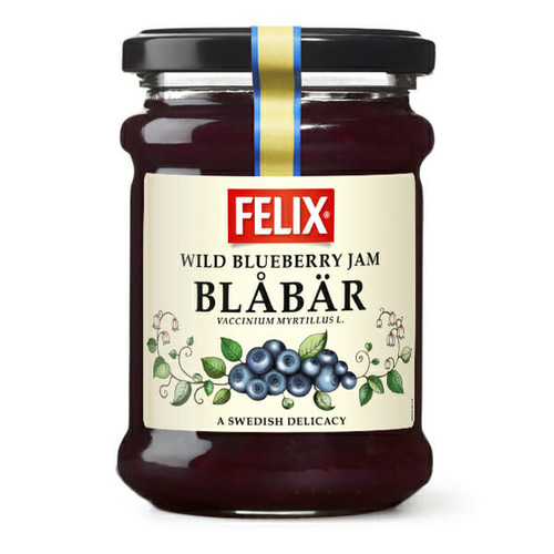 Felix Blåbär – Wild Blueberry Jam 283g
