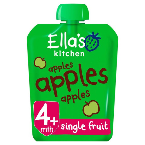 Ella's Kitchen Organic Smooth Apple Puree Stage 1 70g