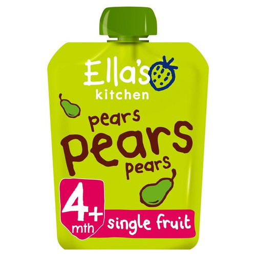 Ella's Kitchen Organic Smooth Pear Puree 70g