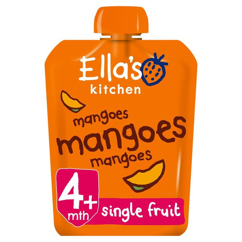 Ella's Kitchen Organic Smooth Mango Puree Stage 1 70g