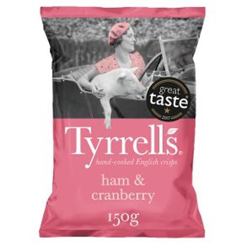 Tyrrell's Ham & Cranberry 150g