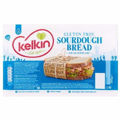Kelkin Sourdough Bread - Gluten Free 200g