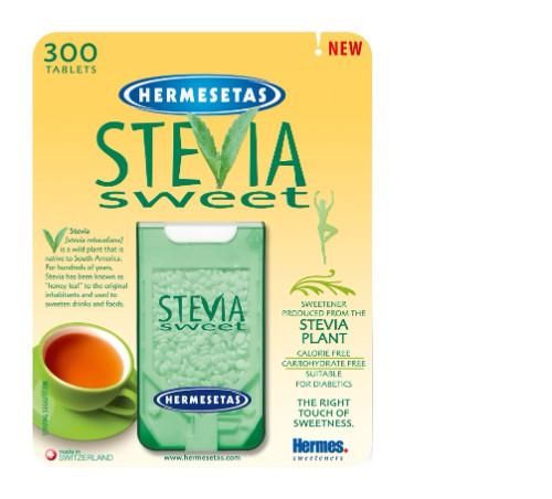 Hermesetas Stevia Sweet Tablets 300's