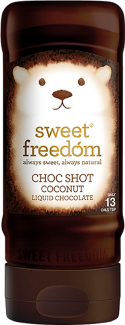 Sweet Freedom Choc Shot - Coconut 320g