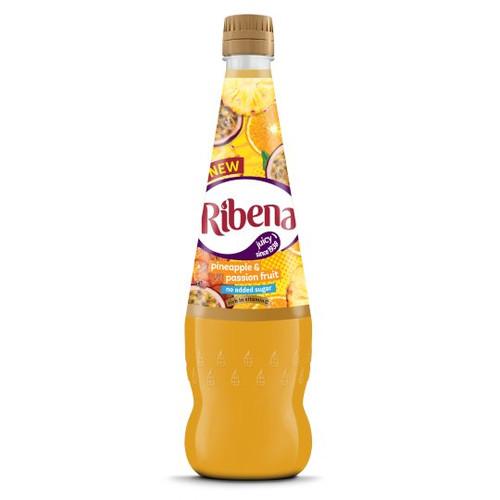 Ribena No Added Sugar Pineapple And Passion Fruit 850Ml