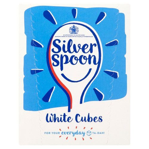 Silver Spoon White Sugar Cubes 500g