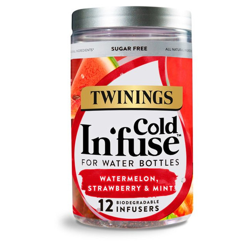 Twinings Watermelon Strawberry & Mint Cold Infuse 12s 30g