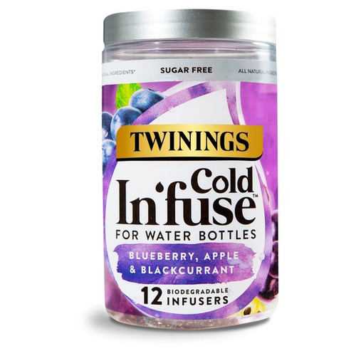 Twinings Blueberry Apple & Blackcurrant Cold Infuse 12s 30g