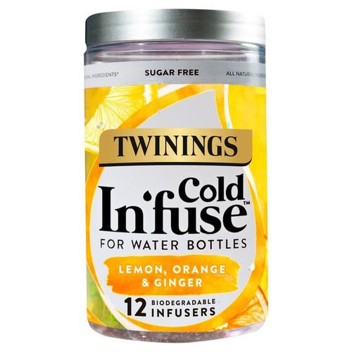 Twinings Lemon Orange & Ginger Cold Infuse 12s 30g