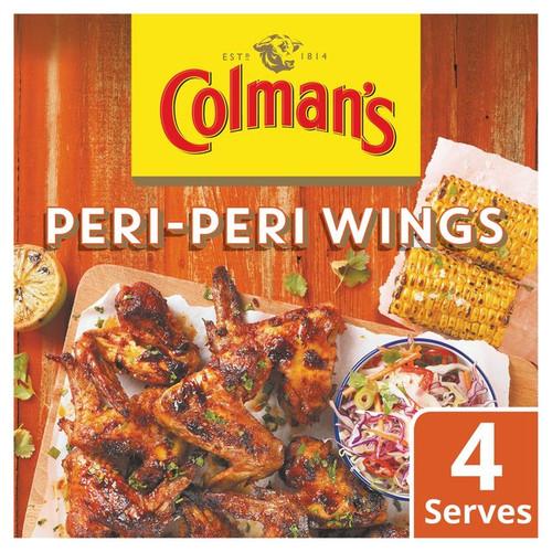 Colman's Share The Flavour Peri Peri Chicken Wings 29g