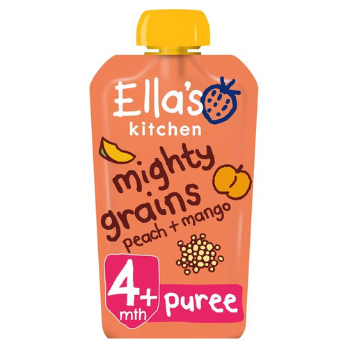 Ella's Kitchen Mighty Grains Peach & Mango From 4 Months 120g