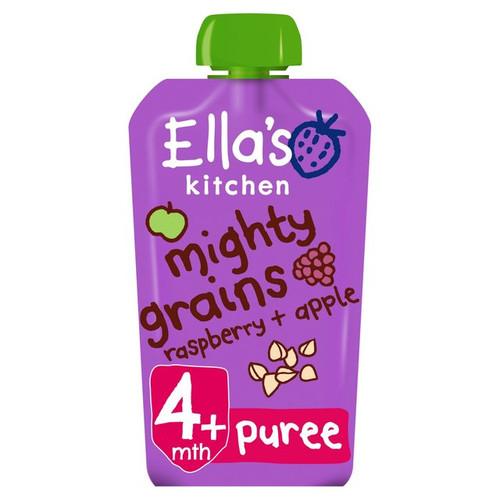 Ella's Kitchen Mighty Grains Apple & Raspberry From 4 Months 120g