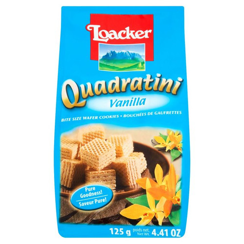 Loacker Vanilla Quadratini 125g