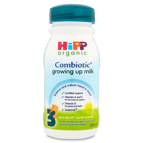 Hipp Combiotic Growing Up Milk (3) Ready To Feed 250ml