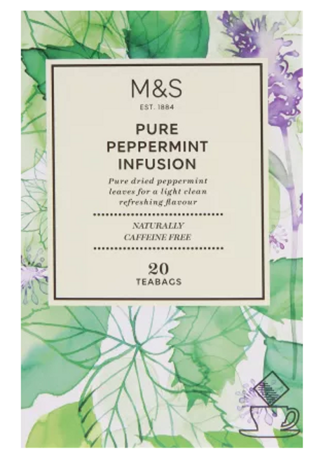 Marks and Spencer Pure Peppermint Infusion 20's
