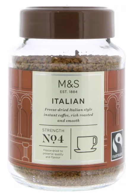 Marks and Spencer Italian Style Instant Coffee 100g