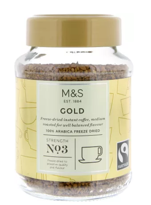 Marks and Spencer Gold Instant Coffee 100g