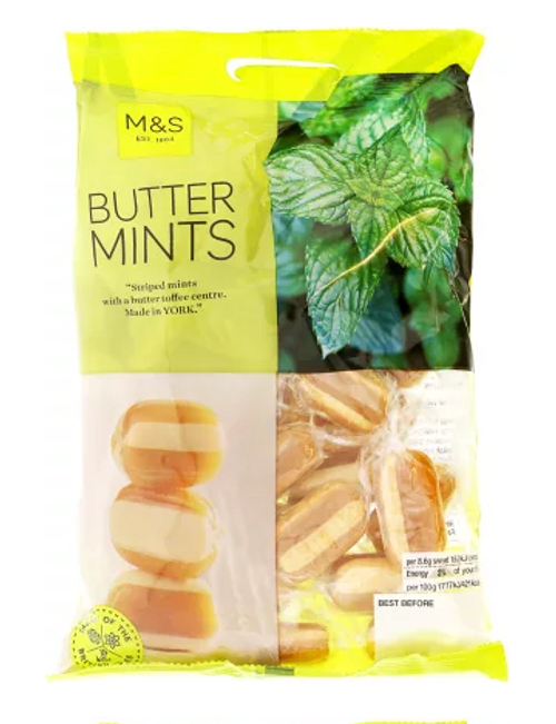 Marks and Spencer Butter Mints 225g