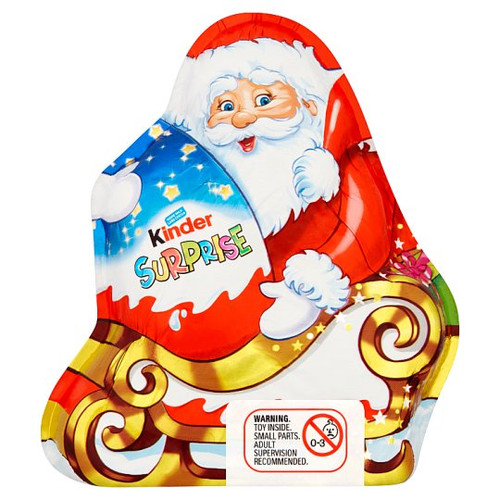Kinder Surprise Santa 75G
