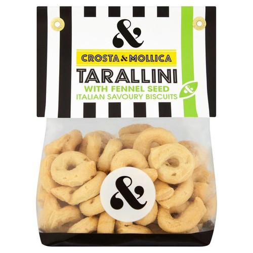 Crosta & Mollica Tarallini with Fennel Seeds 180g