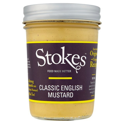 Stokes Classic English Mustard 210g
