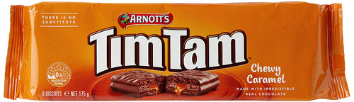 Arnotts Tim Tams Chewy Caramel Biscuits 175g
