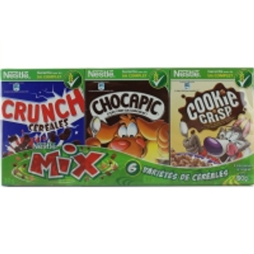 Nestle Mix Cereals - Lion, Nesquik, Chocapic, Crunch & Cookie Crisp 190g