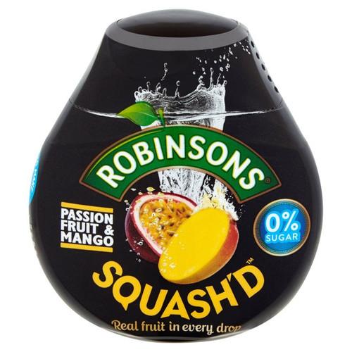 Robinsons Squash'd Mango & Passion Fruit No Added Sugar 66ml